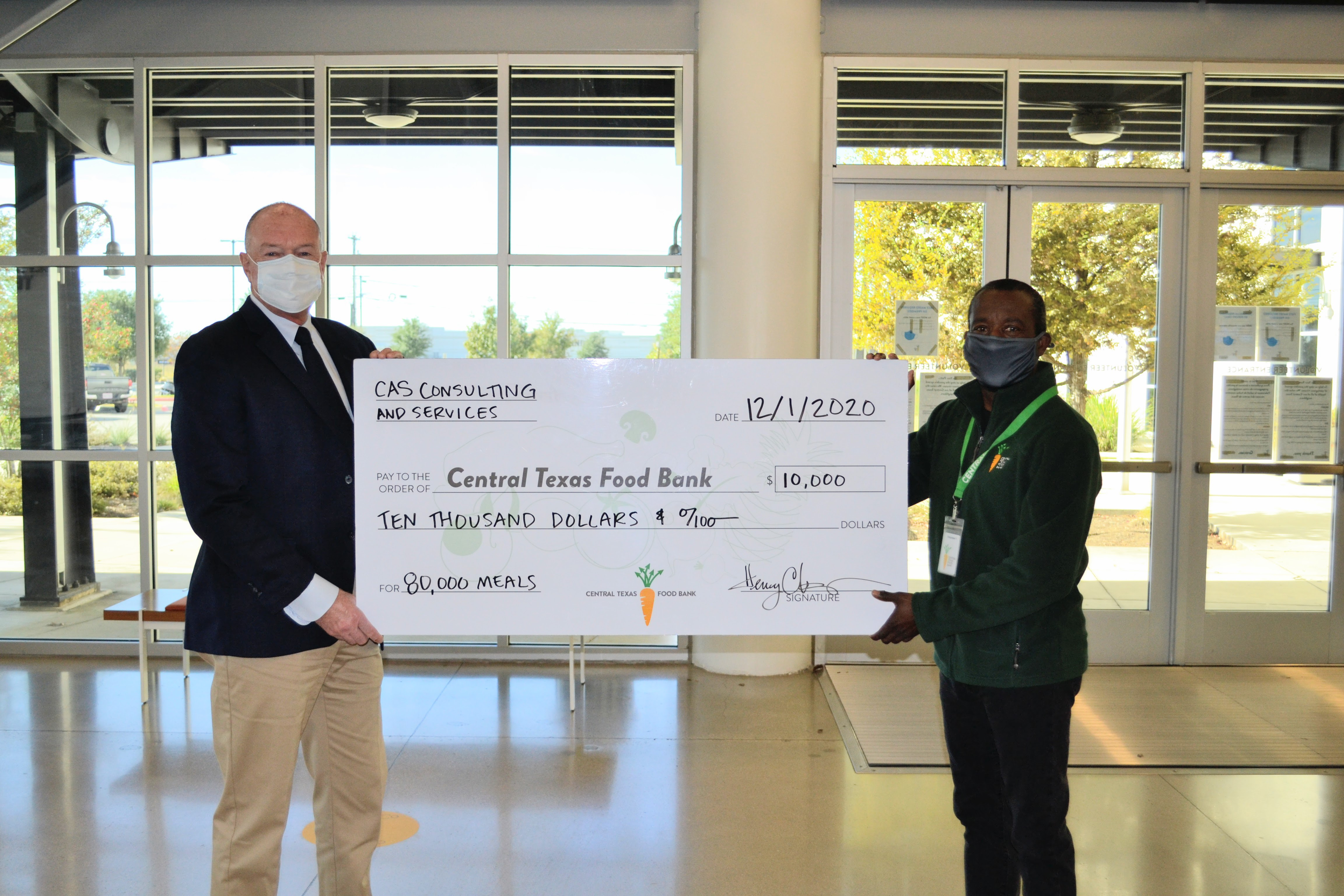 CAS Proudly Partners with Central Texas Food Bank